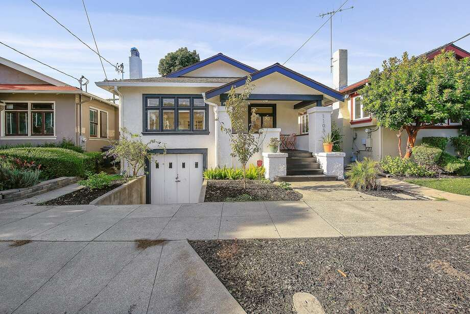 The Alameda home includes a partial basement and a workshop in the garage. Photo: Open Homes Photography