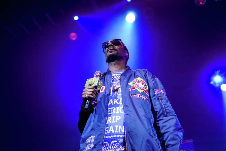 HOUSTON, TX - DECEMBER 18: Rapper Snoop Dogg performed at the House of Blues on December 18, 2017 in Houston, Texas. (Photo by Marco Torres/Houston Chronicle)