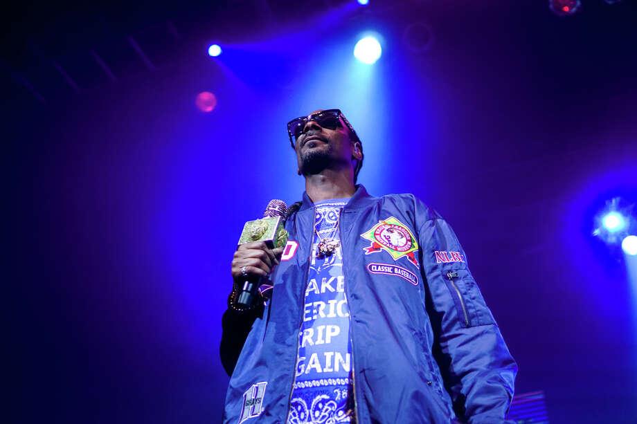 Snoop Dogg Photo: Marco Torres/Houston Chronicle
