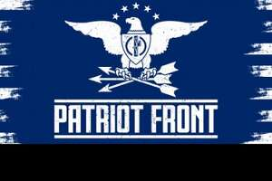Patriot Front is a white supremacist group whose members maintain that their ancestors conquered America and bequeathed it solely to them.
