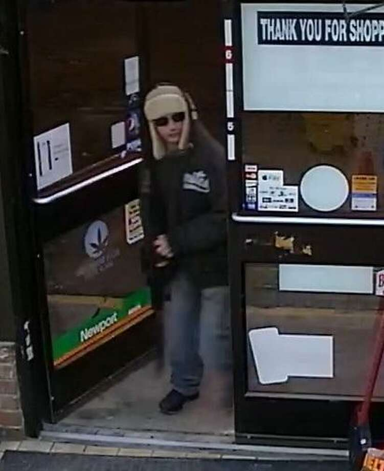 Police are asking the public's help to identify this man who robbed 24/7 Express convenience store on Barnum Avenue on Sunday, Dec. 17, 2017. Photo: Stratford Police Photo