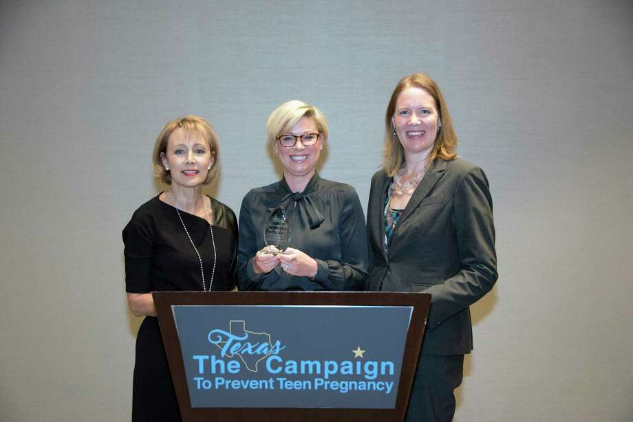 From left: Kelly McBeth, Texas Campaign Board Chair; Rep. Sarah Davis; Dr. Gwen Daverth, Texas Campaign President/CEO Photo: Courtesy Photo
