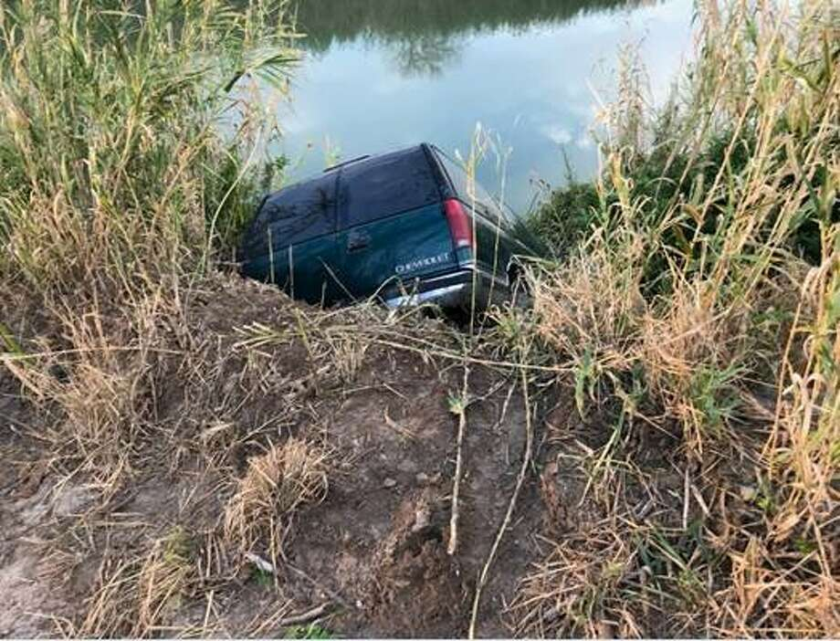 Border Patrol agents found more than 500 pounds of marijuana in an SUV that was ditched in the Rio Grande River Thursday, Dec. 14, 2017. Photo: Contributed Photo