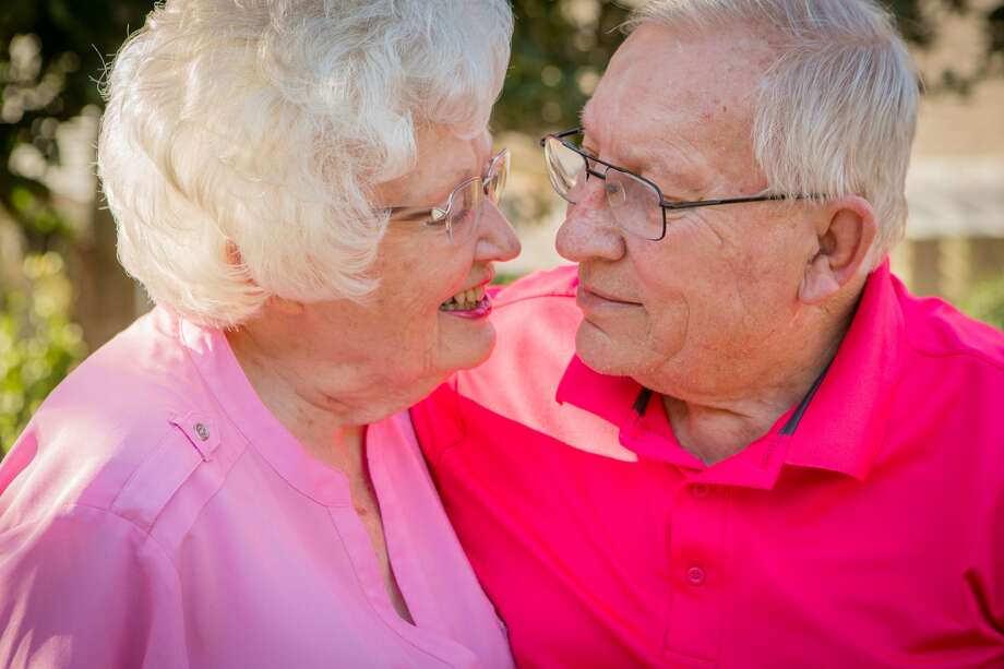 Brookdale, a senior living community in New Braunfels, is home to Allen Seelhammer, 78, and Ann Hoover, 87, who are very much in love.