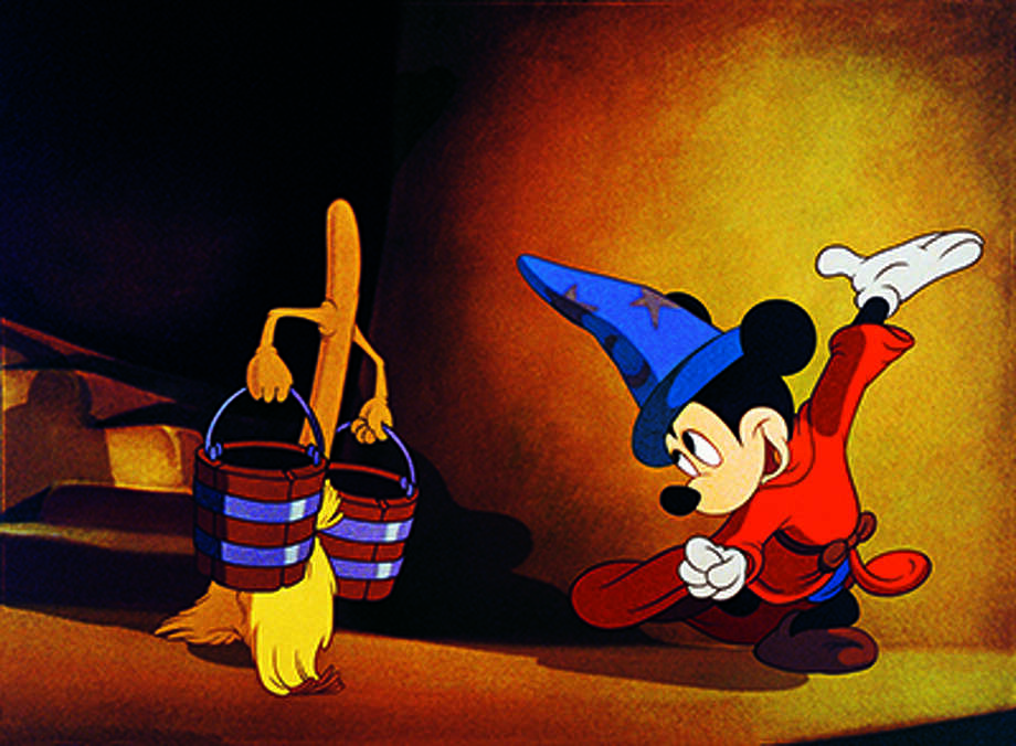 Houston Symphony will perform some of the iconic scores from Disney's Fantasia while the parts of the movie play as a backdrop. on Jan. 5-7. Photo: Courtesy Photo