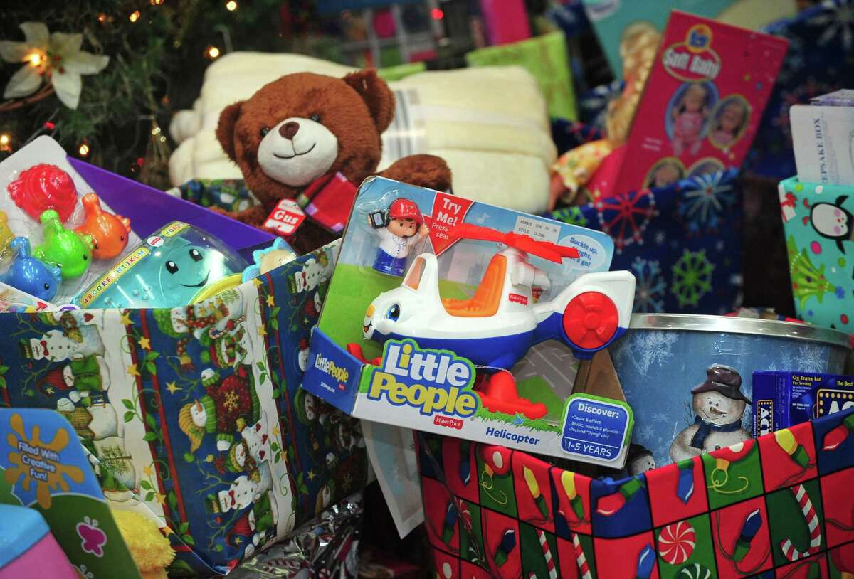 Holiday gift baskets in Norwalk donated to the Salvation Army, the Open Door Shelter and Person-to-Person. Person-to-Person Holiday Toy Drive & Toy Store: Toy Drive, part of Giving Tuesday, is still accepting virtual donations HERE Toy store accepts donations on a rolling basis and can be shipped directly to Person-to-Person via Amazon Wish List