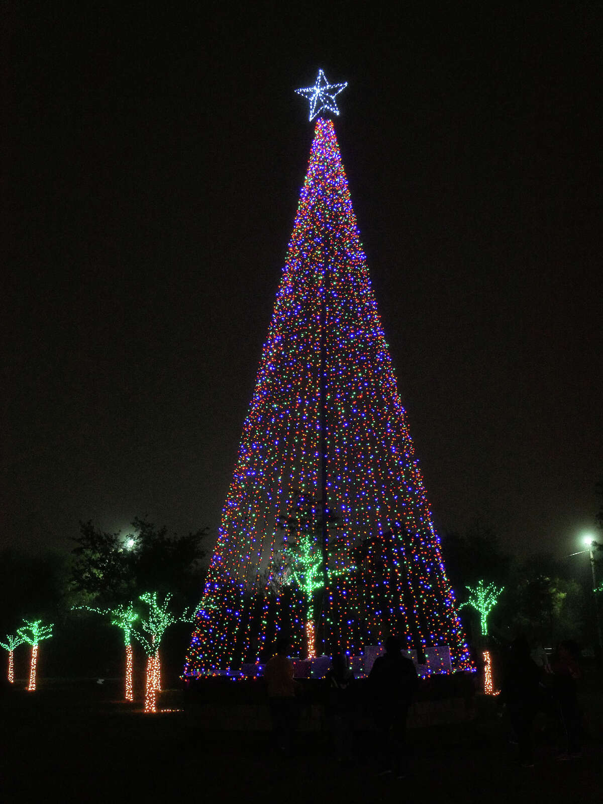 Sights and sounds of the City Council District III Holiday Extravaganza, at Slaughter Park.