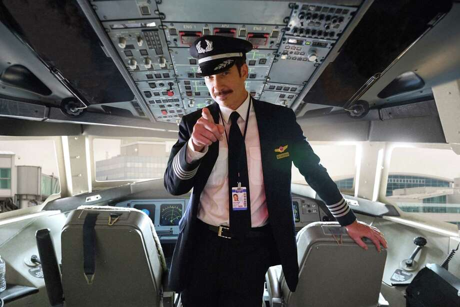 "Dylan McDermott from Waterbury, Connecticut, stars in this new airline comedy ""LA to Vegas"" from the creator of ""Modern Family"" and the comedy geniuses, Will Ferrell and Adam McKay. It debuts on Fox on Jan. 2. Photo: Kevin Estrada/Fox"
