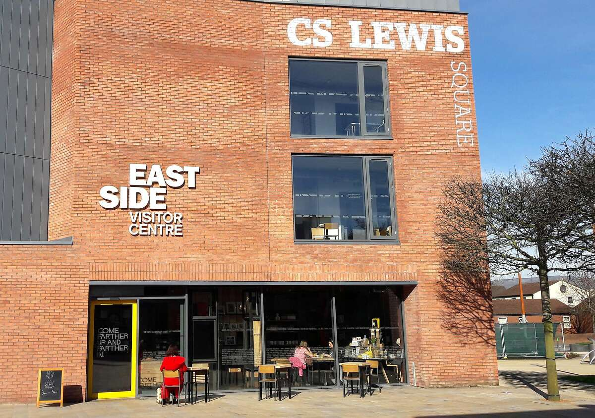 The EastSide Visitor Centre offers information panels about the lives of East Belfast�s famous natives.