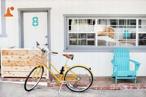 Cambria Beach Lodge offers a fleet of complimentary Linus bikes.
