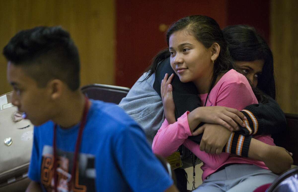 At Las Américas Newcomer School, enrollment has plummeted this year due to immigration enforecement and a new cap on refugees.