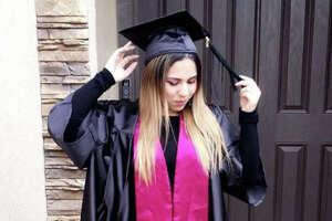 TAMIU graduates took to social media to celebrate their accomplishments.