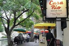 Casa Rio on East Commerce Street along the River Walk.