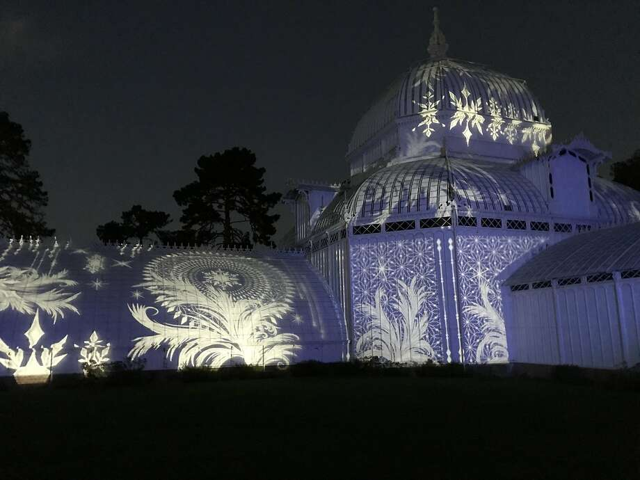 """Love For All Seasons"" at the Conservatory of Flowers. Photo: Sam Whiting"