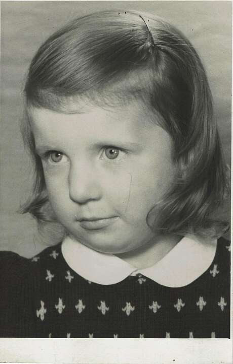 Childhood portrait of Chantal Guillon. Photo: Courtesy Guillon Family