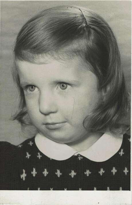 Childhood portrait of Chantal Guillon. Photo: Courtesy Guillon Family