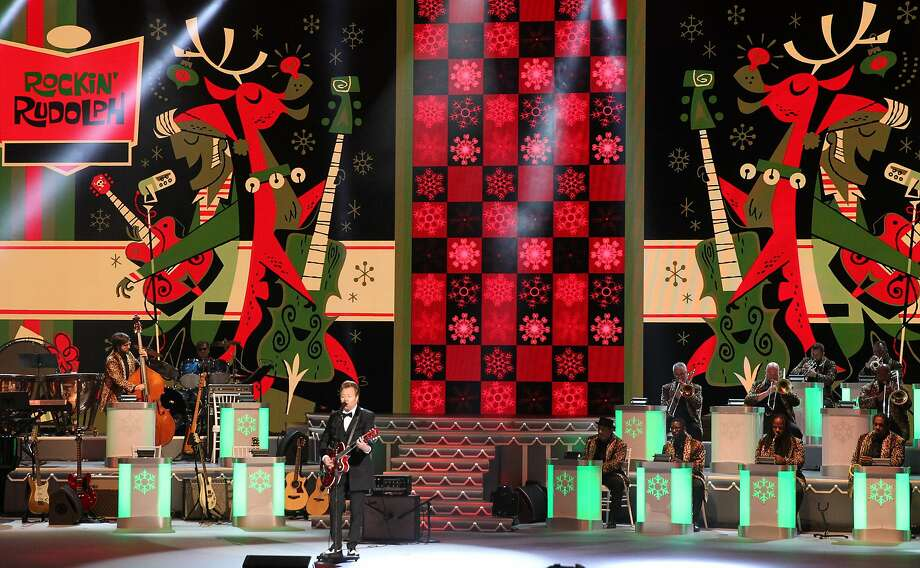 Brian Setzer will bring holiday cheer to the Warfield on Christmas Eve. Photo: (Photo By Terry Wyatt/FilmMagic), FilmMagic