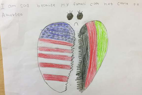 Art work is featured from a   Baker Ripley Community Schools third-grade student.