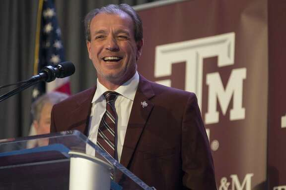 New Texas A&M University head football coach Jimbo Fisher talks during a press conference at the school's Hall of Champions at Kyle Field on Dec. 4, 2017, in College Station. Fisher is opposed to the new early signing period for high school seniors.