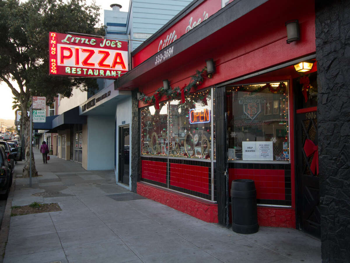 Little Joe's Pizza in the Excelsior district was awarded Legacy Business status by the Small Business Commission.