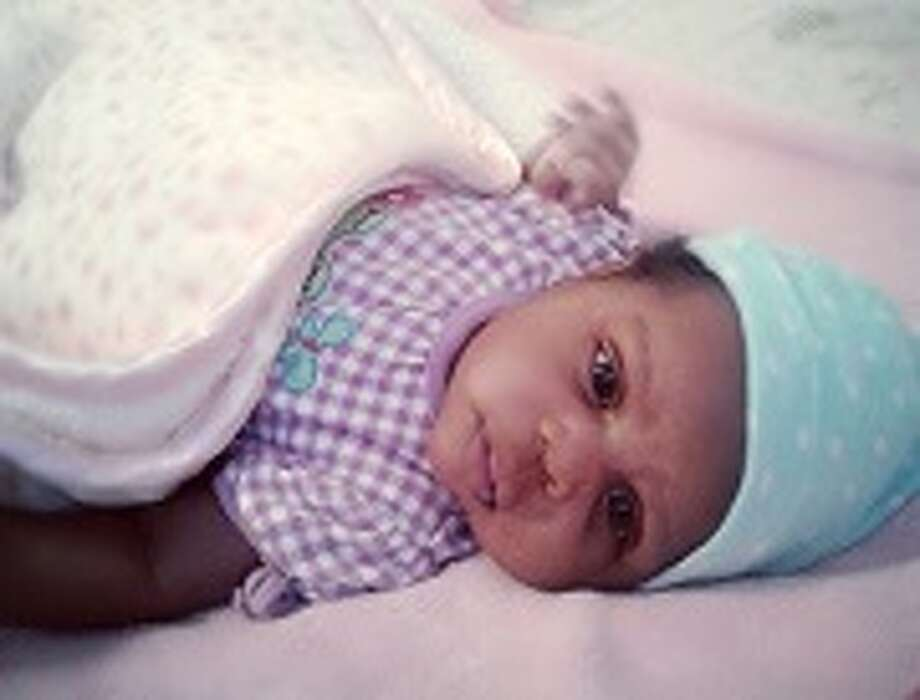 Amber alert issued for Chamali Flores, who is described as 6-week-old,30 inches and 20 lbs. She is believed to Honduran and possibly black or mixed race origin. Photo: DPS