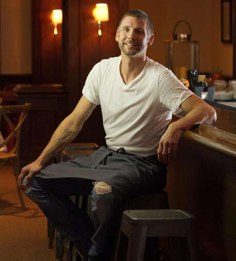Chef Roberth Sundell at his restaurant, Plaj, in S.F. Photo: John Storey