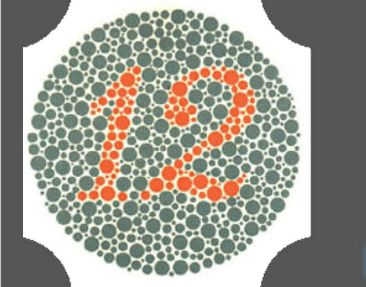 Are you red-green color blind? Take the test from Color-Blind.com Standard vision: 12 Weak red-green vision: 12