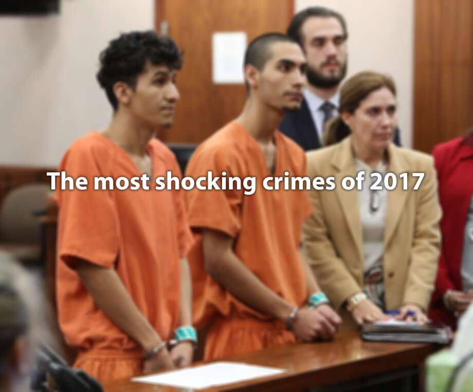 Swipe through to see the most shocking crimes in Texas during 2017.