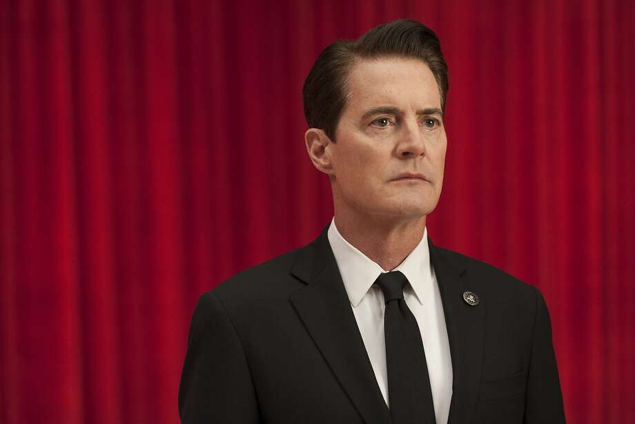"This image released by Showtime shows Kyle MacLachlan from the revival of ""Twin Peaks."" MacLachlan was nominated for a Golden Globe award for best actor in a limited series or motion picture made for TV on Monday, Dec. 11, 2017. The 75th Golden Globe Awards will be held on Sunday, Jan. 7, 2018 on NBC. (Suzanne Tenner/Showtime via AP) Photo: Suzanne Tenner, Associated Press"