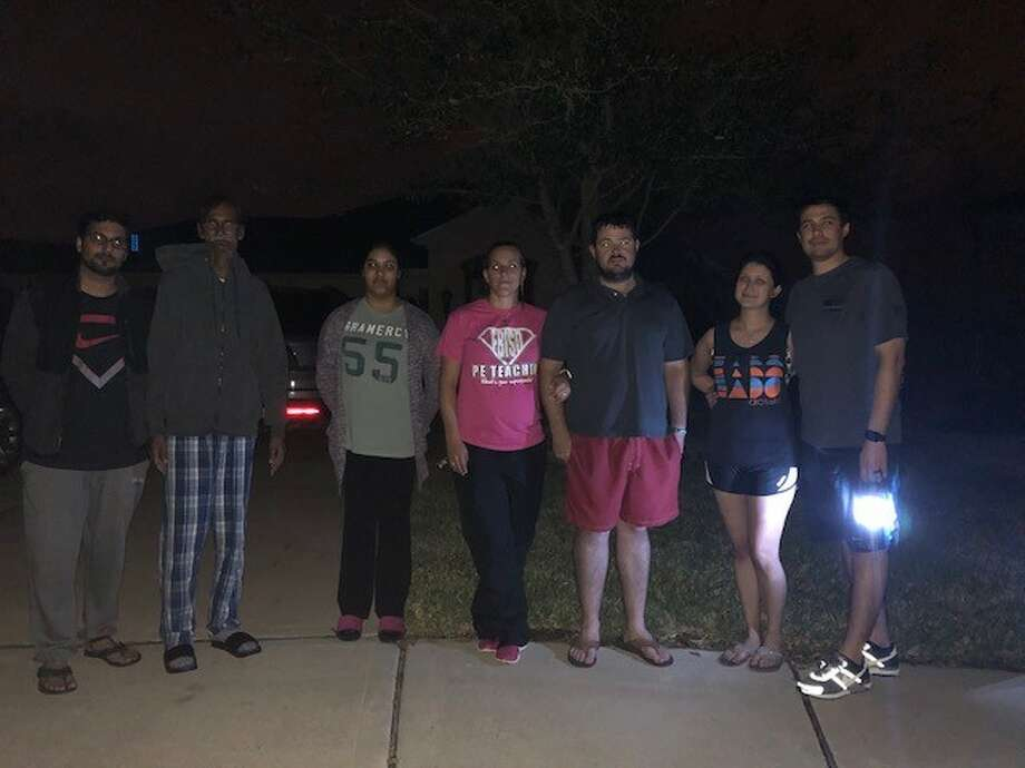 Three Richmond-area couples say they were victims of a power surge Tuesday when CenterPoint failed to disconnect their power before working a transmission box.
