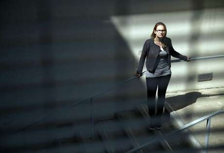 Eva Hagberg Fisher, a PhD student at UC Berkeley, accused her professor of sexually harassing her in a case UC settled for $80,000. Photo: Scott Strazzante / Scott Strazzante / The Chronicle 2016 / ONLINE_YES