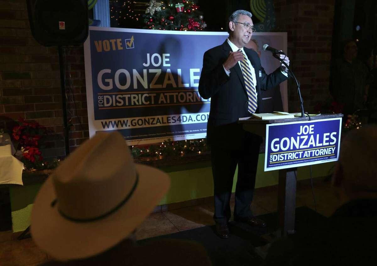 San Antonio defense attorney Joe Gonzales is a Democratic candidate for Bexar County district attorney.