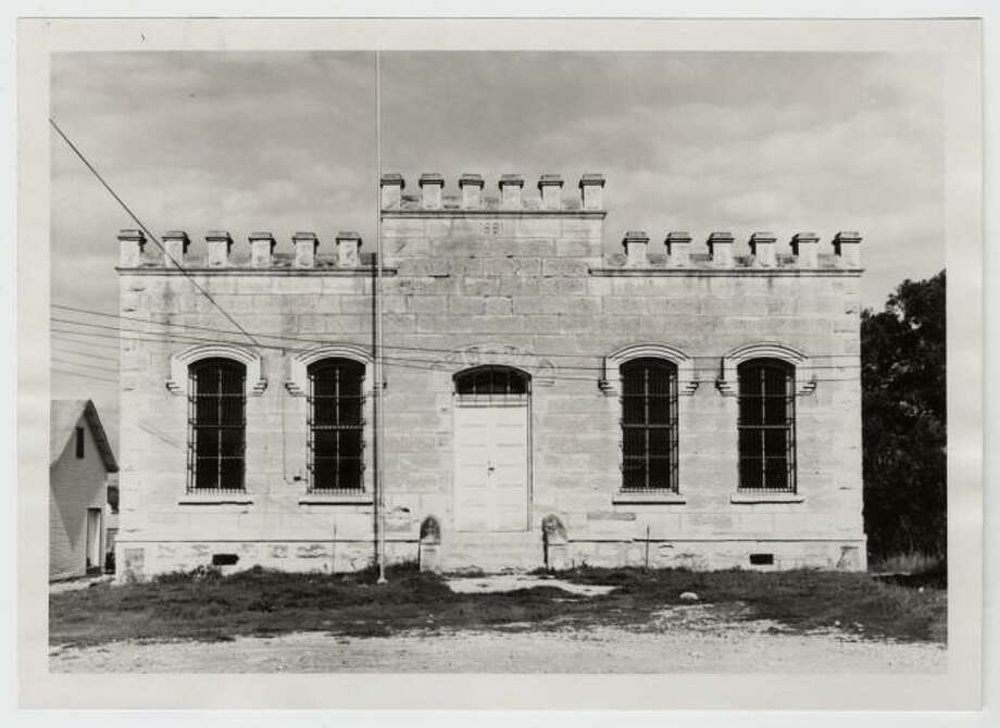 Bandera's former county jail housed its first inmate in 1881. Photo: Texas Historical Commission
