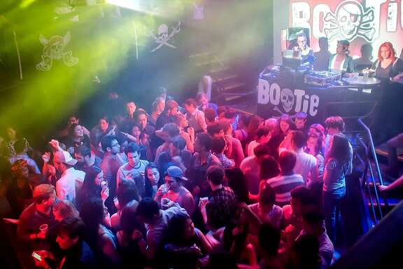 Bootie SF's New Year's Eve bash at DNA Lounge.