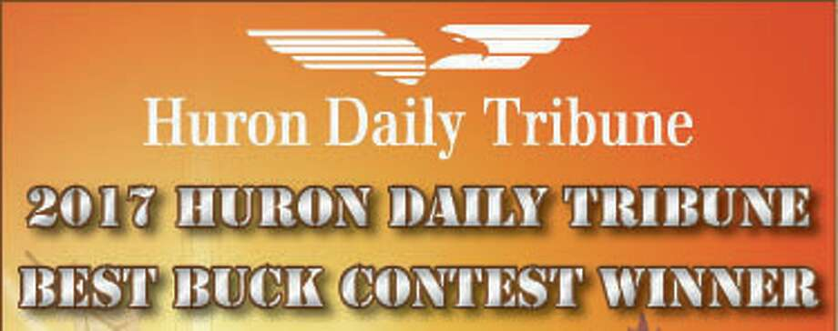 2017 Best Buck Contest winner announced. Photo: Huron Daily Tribune
