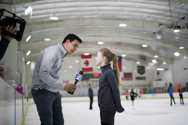Kprc S Jacob Rascon Gave Up National News Now Competes Against Dad