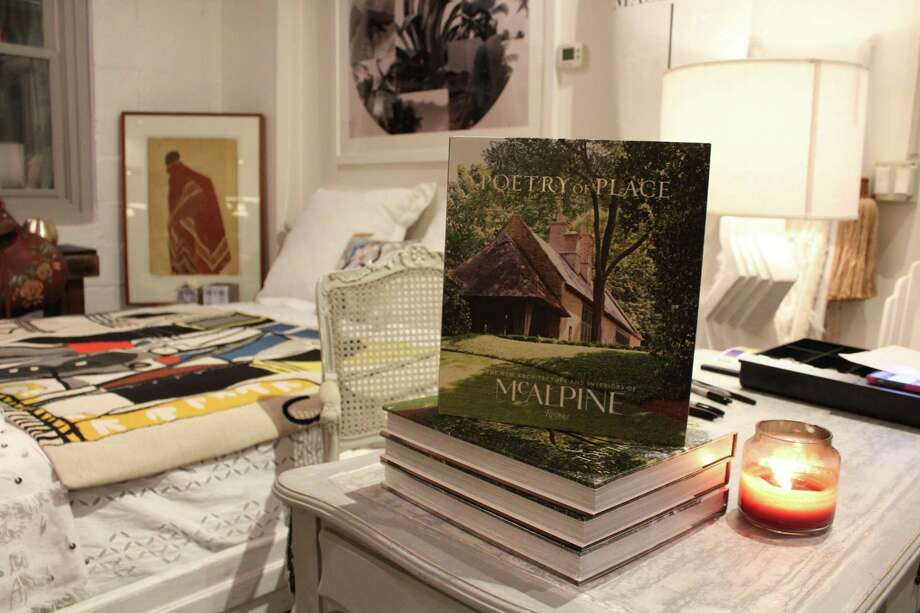 """Poetry of Place"" by the Bobby McAlpine architecture firm at Caravan in New Canaan on Dec. 14, 2017. Photo: Humberto J. Rocha / Hearst Connecticut Media / New Canaan News"