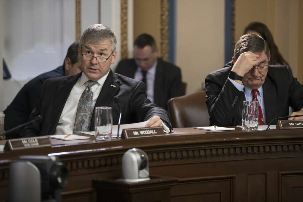<p>House Rules Committee members, Rep. <b>Rob Woodall</b>, R-Ga., left, says he will not seek re-election in 2020.</p>