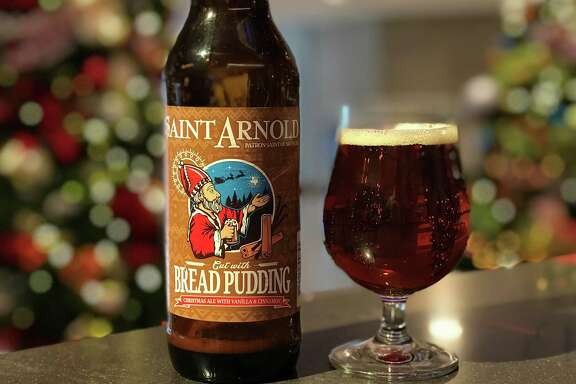 Cut With Bread Pudding is a new limited-release beer from Saint Arnold Brewing Co.