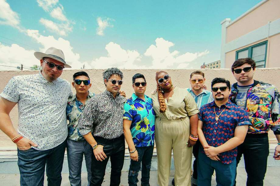 Houston band The Suffers has a second album due in 2018. Photo: Greg Noire