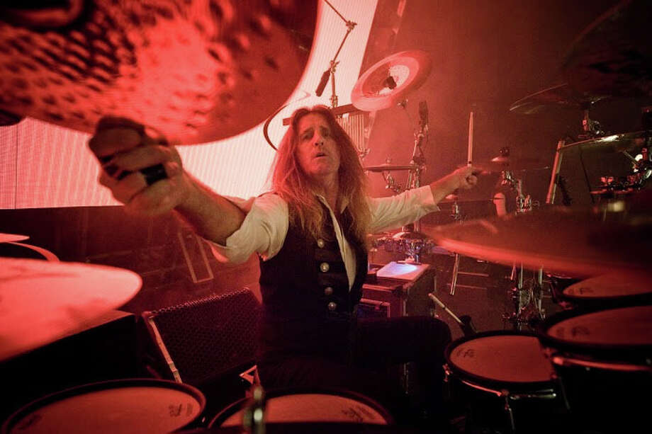 """Jeff Plate, of the Trans-Siberian Orchestra, is seen here. Mohegan Sun Arena welcomes TSO's """"é«The Ghosts of Christmas Eve"""" tour for two shows on Friday, Nov. 27. Photo: Contributed Photo"""
