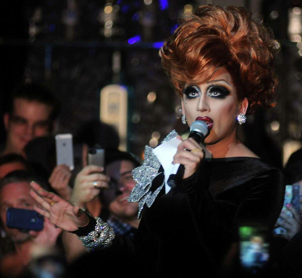 Bianca Del Rio performs at South Beach Saturday May 10, 2014.(Dave Rossman photo)