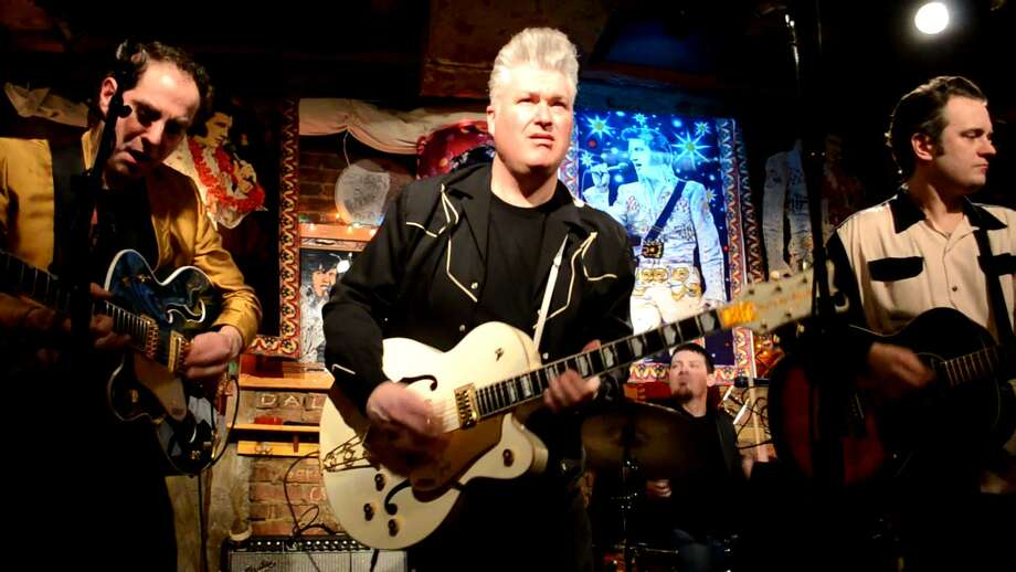 The Lustre Kings  will have their Rockabilly Christmas 9 p.m. Friday at McGeary's Irish Pub in Albany.