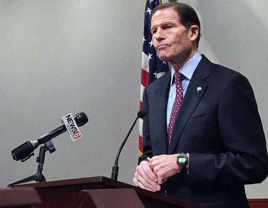 Sen. Richard Blumenthal Photo: / Ken Dixon