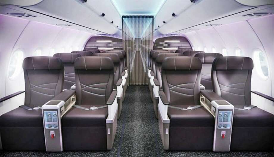 First class cabin on Hawaiian's A321neo (Image: Hawaiian)