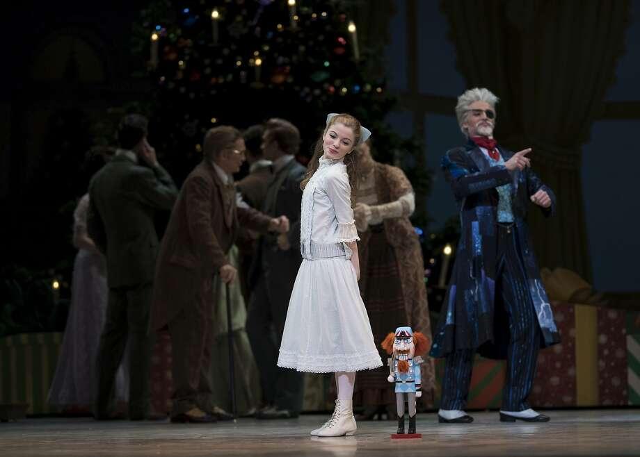 "Olivia Callander, 14, as Clara in S.F. Ballet's ""Nutcracker."" Photo: Erik Tomasson., Erik Tomasson"