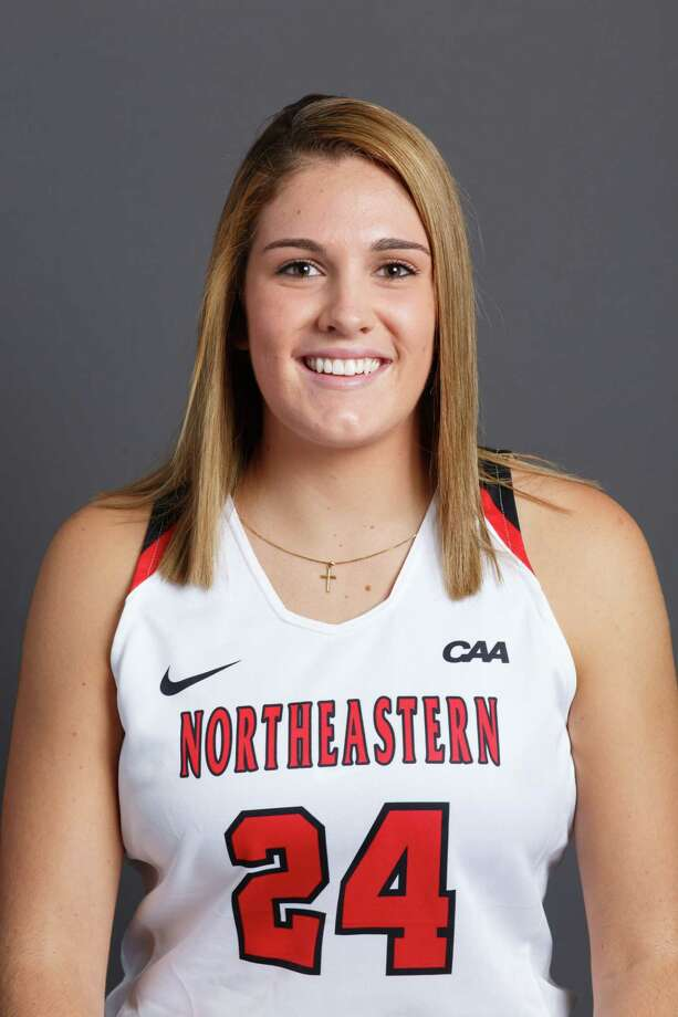 Bethlehem High graduate Gabby Giacone of the Northeastern women's basketball team. (Heratch Ekmekjian / Northeastern Athletics) Photo: Heratch Ekmekjian / Copyright © Heratch Ekmekjian 2017