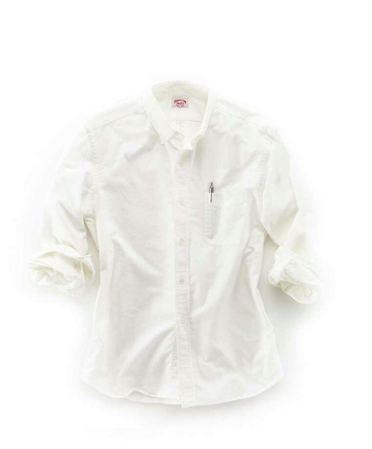 Hamilton 1883 Oxford shirt from Hamilton Shirts of Houston. Credit: Hamilton Shirts / handout