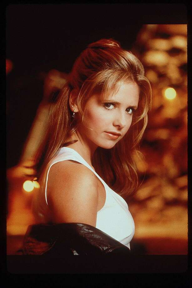 "Sarah Michelle Gellar in the title role of ""Buffy the Vampire Slayer."" Photo: TIMOTHY WHITE"