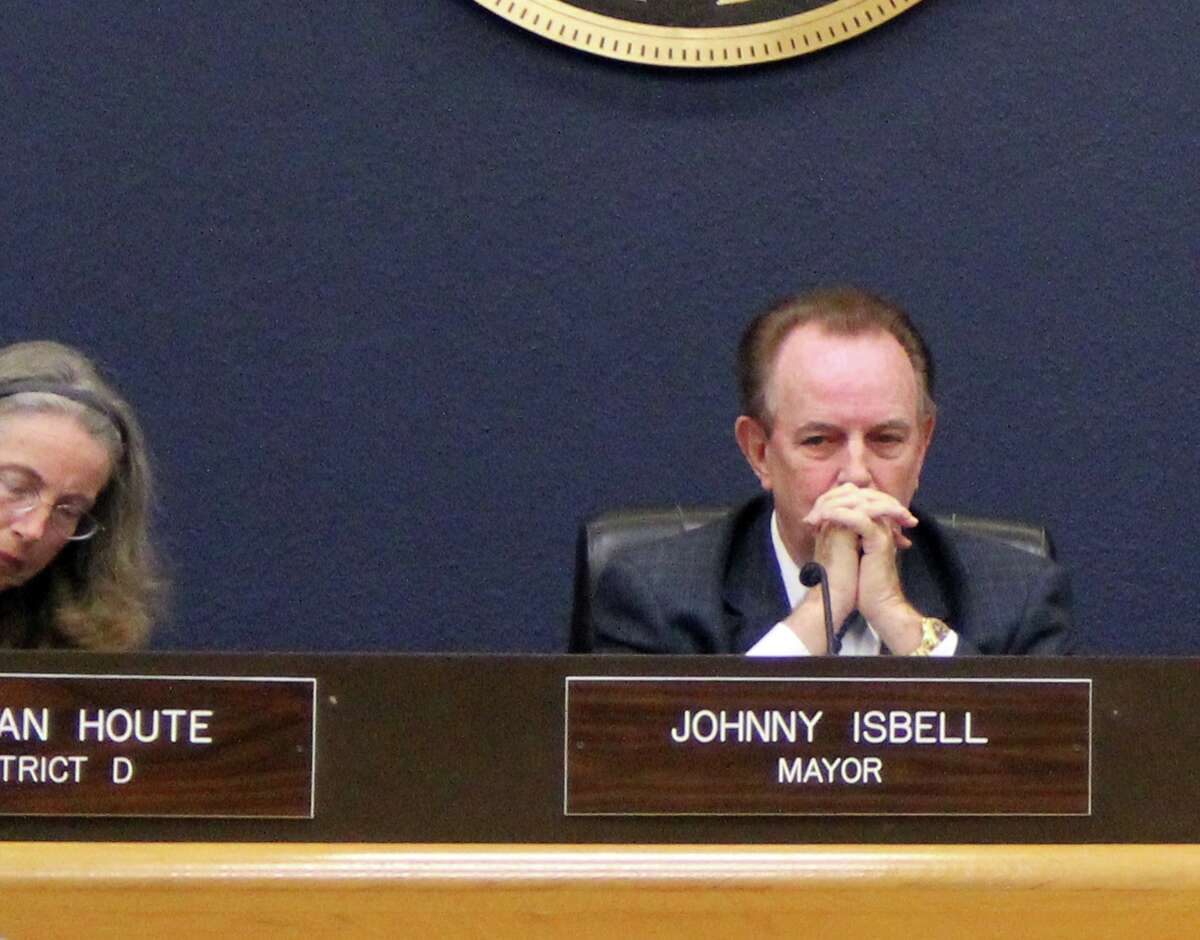 """Term-limited from seeking re-election. Pasadena Mayor Johnny Isbell opposed settling a voting rights lawsuit with the Latino plaintiffs. Isbell had been the architect of a 2013 redistricting plan that led to the legal challenge. But after his election in June, new mayor Jeff Wagner got City Council permission to settle, saying that while he didn't think the city had violated the Voting Rights Act, """"I think it's in the best interest of the city to get this suit behind us."""""""